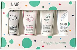 Parfumuri și produse cosmetice Set - Naif Baby Kit (sh/15ml + cr/15ml + cr/15ml + sh/gel/15ml)