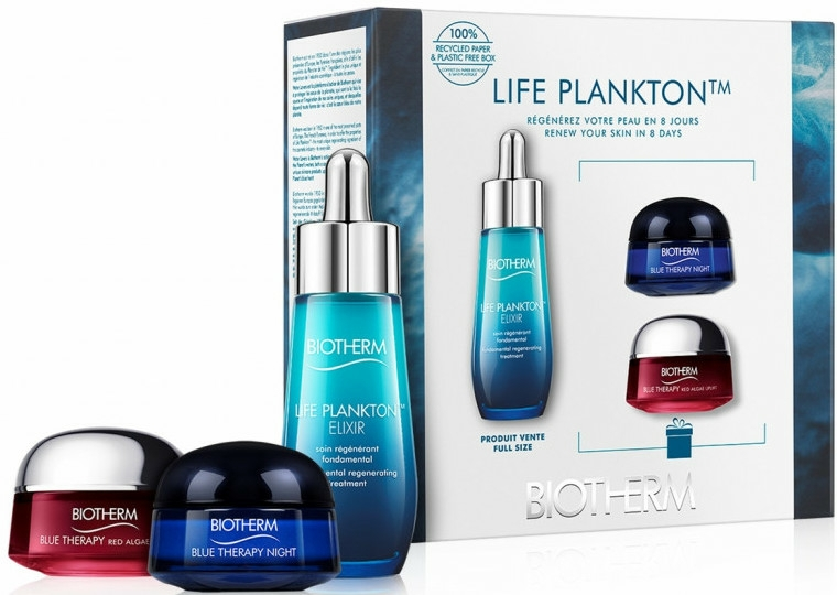 Set - Biotherm Blue Therapy (cr/15ml + n/cr/15ml + elixir/30ml)