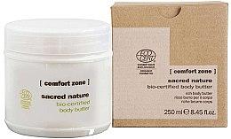 Parfumuri și produse cosmetice Cremă nutritivă pentru corp - Comfort Zone Sacred Nature Bio-Certified Body Butter