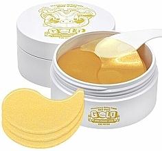 Parfumuri și produse cosmetice Patch-uri cu hidrogel, achid hialuronic și aur pentru pielea din jurul ochilor - Elizavecca Gold Hyaluronic Acid Eye Patch