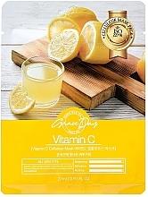 Parfumuri și produse cosmetice Mască din țesătură cu vitamina C - Grace Day Traditional Oriental Mask Sheet Vitamin C