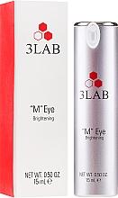 Parfumuri și produse cosmetice Cremă-lifting pentru pielea din jurul ochilor - 3Lab M Eye Brightening Cream