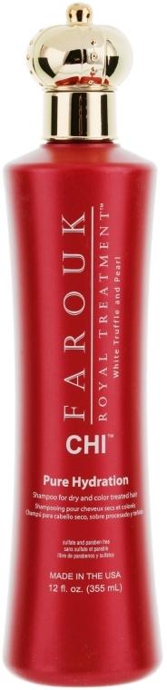 Șampon pentru păr uscat și vopsit - CHI Farouk Royal Treatment by CHI Hydration Shampoo — Imagine N1
