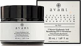 Parfumuri și produse cosmetice Cremă de întinerire cu acid hialuronic - Avant Skincare Ultimate Hyaluronic Acid Resurfacing Duo Moisturiser