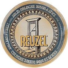 Parfumuri și produse cosmetice Colonie solidă după bărbierit - Reuzel Wood & Spice Solid Cologne Balm