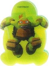 Parfumuri și produse cosmetice Burete de baie Michelangelo 3, pentru copii - Suavipiel Turtles Bath Sponge