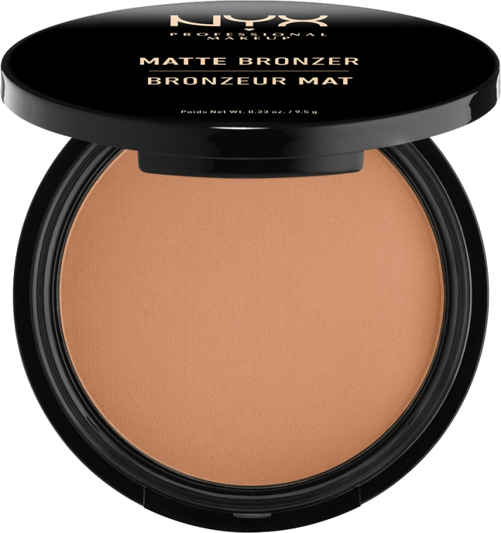 Pudra bronzantă mată - NYX Professional Makeup Matte Bronzer