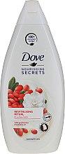 Parfumuri și produse cosmetice Gel de duș cu extract de fructe goji - Dove Nourishing Secrets Revitalising Ritual Goji Shower Gel