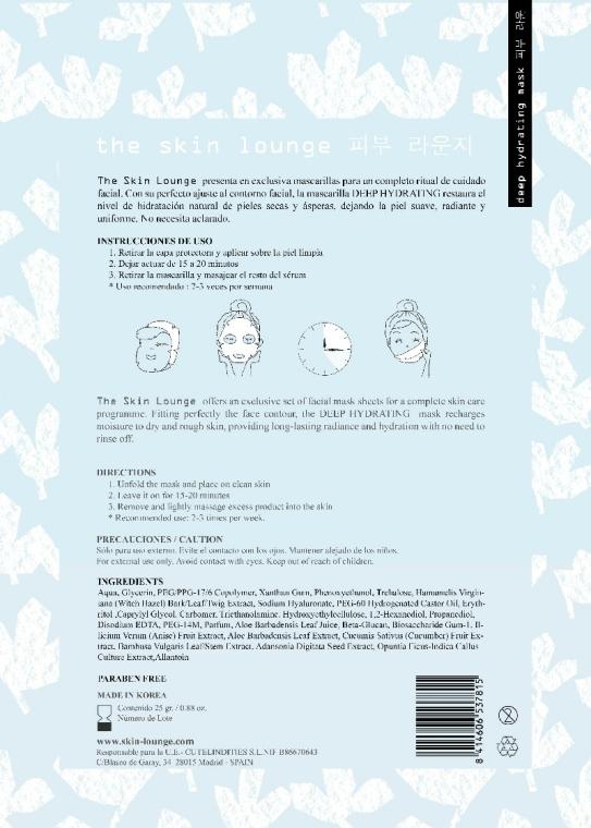 Mască de față - The Skin Lounge — Imagine N2