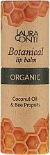 Balsam cu propolis pentru buze - Laura Conti Botanical Lip Balm — Imagine N3