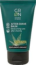 Parfumuri și produse cosmetice Balsam după ras - GRN Gentlemen's Organic Hemp & Hop After-Shave Balm