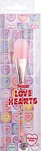 Parfumuri și produse cosmetice Pensulă pentru fond de ten - Swizzels Love Hearts Foundation Brush