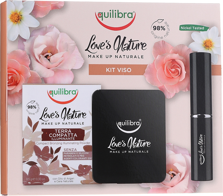 Set - Equilibra Love's Nature (powder/8.5g + brush) — Imagine N1