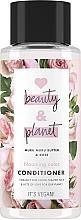 """Parfumuri și produse cosmetice Balsam de păr """"Blooming color"""" - Love Beauty&Planet Muru Muru Butter & Rose Conditioner"""