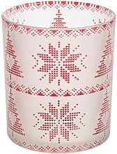 Parfumuri și produse cosmetice Suport pentru lumânare - Yankee Candle Red Nordic Frosted