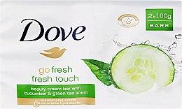 Săpun-cremă de corp - Dove Go Fresh Cream Bar With Cucumber & Green Tea Scent — Imagine N1