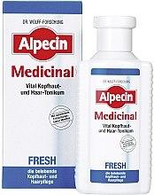 Parfumuri și produse cosmetice Tonic revitalizant pentru scalp - Alpecin Medical Fresh