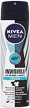 Parfumuri și produse cosmetice Deodorant antiperspirant spray - Nivea For Men Invisible For Black & White Fresh Deodorant Spray