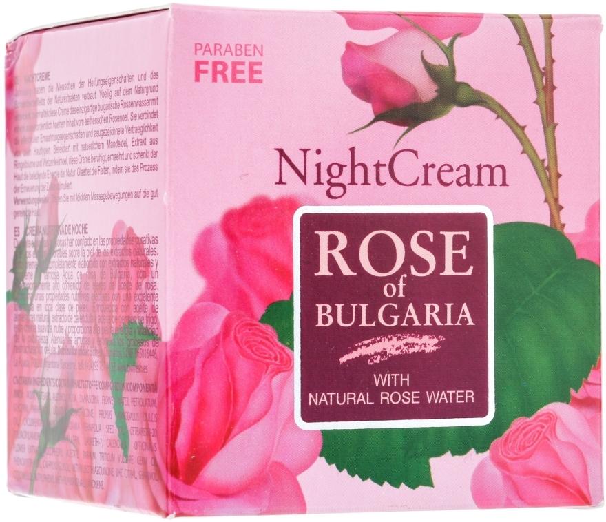Cremă de noapte pentru față - BioFresh Rose of Bulgaria Rose Night Cream — Imagine N2