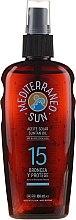 Parfumuri și produse cosmetice Ulei pentru brozat - Mediterraneo Sun Coconut Suntan Oil Dark Tanning SPF15