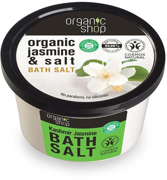 "Sare de baie ""Iasomie de cașmir"""" - Organic Shop Baths Salt Organic Jasmine & Salt — Imagine N1"