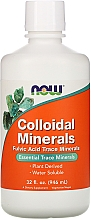 Parfumuri și produse cosmetice Minerale coloidale - Now Foods Colloidal Minerals