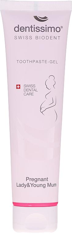 Pastă-gel de dinți pentru femei însărcinate și mame tinere - Dentissimo Pregnant Lady & Young Toothpaste-Gel — Imagine N2
