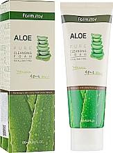 Parfumuri și produse cosmetice Spumă cu extract de aloe pentru curățarea feței - FarmStay Pure Cleansing Foam Aloe