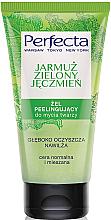 Parfumuri și produse cosmetice Gel-scrub de curățare pentru față - Perfecta