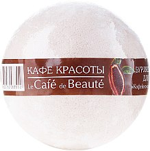 """Parfumuri și produse cosmetice Bilă efervescentă pentru baie """"Sorbet de cafea și ciocolată"""" - Le Cafe de Beaute Bubble Ball Bath"""