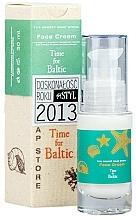 """Parfumuri și produse cosmetice Cremă cu extract de chihlimbar și colagen marin pentru față """"Time for the Baltic"""" - The Secret Soap Store Time For Baltic Face Cream"""