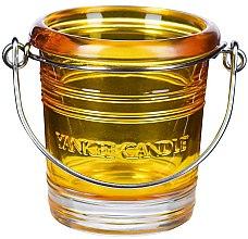 Parfumuri și produse cosmetice Sfeșnic pentru lumânare votivă - Yankee Candle Bucket Holder Yellow