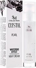 Parfumuri și produse cosmetice Cremă de noapte cu extract de perle naturale - SM Collection Crystal Pearl Night Cream
