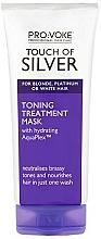 Parfumuri și produse cosmetice Mască tonifiantă pentru păr - Pro:Voke Touch Of Silver Hair Toning Mask
