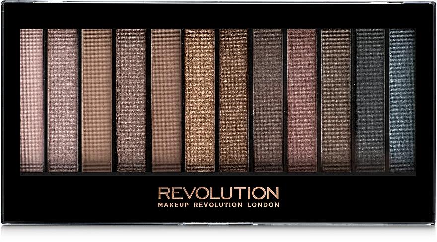 Paletă fard de pleoape, 12 nuanţe - Makeup Revolution Redemption Palette Iconic 1
