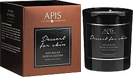 Parfumuri și produse cosmetice Lumânare naturală de soia - APIS Professional Dessert For Skin Candle