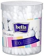 Parfumuri și produse cosmetice Bețișoare de urechi - Bella (în ambalaj rotund)
