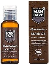 Parfumuri și produse cosmetice Ulei pentru barbă - Man Cave Blackspice Beard Oil