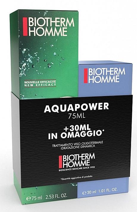 Set - Biotherm Homme Aquapower Set (aftersh/gel/75ml + aftersh/gel/30ml) — Imagine N1