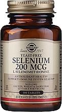 Parfumuri și produse cosmetice Supliment nutritiv dietetic - Solgar Selenium 200 mcg