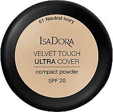 Parfumuri și produse cosmetice Pudră de față - IsaDora Velvet Touch Ultra Cover Compact Powder SPF 20 (61- Neutral Ivory)