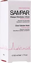 Parfumuri și produse cosmetice Mască purificatoare pentru ten gras și mixt - Sampar Clear Solution Mask