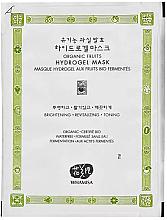 Parfumuri și produse cosmetice Mască hidrogel - Whamisa Organic Fruits Hydrogel Mask