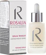 Parfumuri și produse cosmetice Ser pentru ochi și conturul buzelor - Naturado Rosalia Serum Eye And Lip Contours