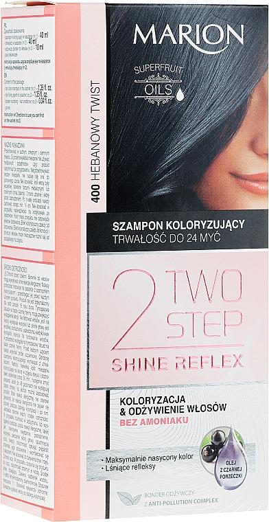 Șampon fără amoniac pentru păr vopsit - Marion Two-Step Shine Reflex Color Shampoo — Imagine N1