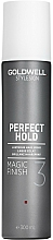 Parfumuri și produse cosmetice Brilliant spray de păr - Goldwell Style Sign Perfect Hold Magic Finish Lustrous Hairspray