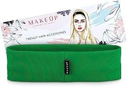 """Parfumuri și produse cosmetice Bandă elastică pentru păr """"Be Beauty"""", verde - MakeUp"""