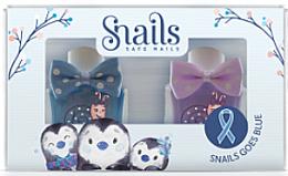 Parfumuri și produse cosmetice Set ojă de unghii pentru copii, 2x10,5ml - Snails Mini Bebe Penguin