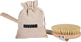 Parfumuri și produse cosmetice Perie pentru masaj uscat Nr. 4 - Hhuumm