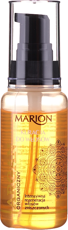 Fluid pentru păr - Marion Hair Treatment With Argan Oil